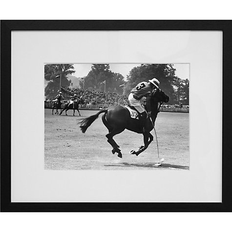 Buy Getty Images Gallery Polo Match Framed Print, 50 x 75cm Online at johnlewis.com