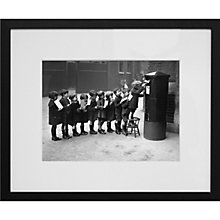 Buy Getty Images Gallery Post Queue Framed Print, 50 x 57cm Online at johnlewis.com