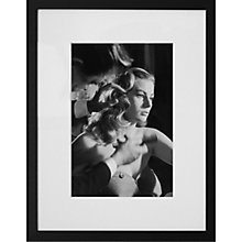 Buy Getty Images Gallery Anita Ekberg Prep For Press Framed Print, 65 x 56cm Online at johnlewis.com