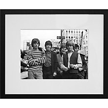 Buy Getty Images Gallery Rolling Stones in New York Framed Print, 56 x 65cm Online at johnlewis.com
