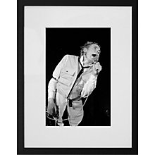 Buy Getty Images Gallery Johnny Rotten Framed Print, 57 x 50cm Online at johnlewis.com
