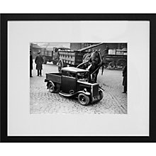 Buy Getty Images Gallery Rytecraft Scootacar Framed Print, 50 x 57cm Online at johnlewis.com