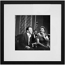 Buy Getty Images Gallery Sinatra & Fitzgerald Framed Print, 50 x 50cm Online at johnlewis.com