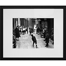Buy Getty Images Gallery Street Cricket Framed Print, 50 x 57cm Online at johnlewis.com