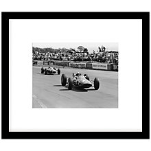 Buy Getty Images Gallery Surtees at Silverstone Framed Print, 50 x 57cm Online at johnlewis.com