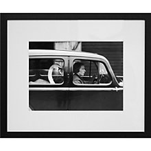 Buy Getty Images Gallery Swan in A Car Framed Print, 50 x 57cm Online at johnlewis.com