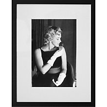 Buy Getty Images Gallery Marilyn Monroe Smelling a Rose Bud Framed Print, 57 x 50cm Online at johnlewis.com