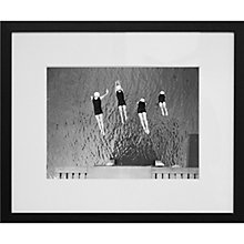Buy Getty Images Gallery Synchronised Dive Framed Print, 50 x 57cm Online at johnlewis.com