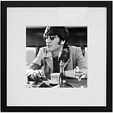 Buy Getty Images Gallery Talk To John Lennon Framed Print, 50 x 50cm Online at johnlewis.com