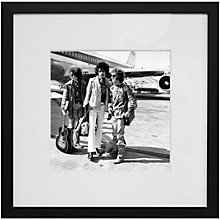 Buy Getty Images Gallery The Jimi Hendrix Experience Framed Print, 59 x 59cm Online at johnlewis.com