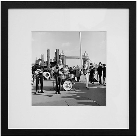 Buy Getty Images Gallery The Who Framed Print, 59 x 59cm Online at johnlewis.com