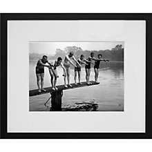 Buy Getty Images Gallery Winter Plunge Framed Print, 50 x 57cm Online at johnlewis.com