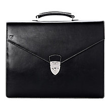 Buy Aspinal of London Leather Executive Laptop Briefcase Online at johnlewis.com
