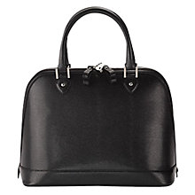Buy Aspinal of London Hepburn Leather Bowling Handbag Online at johnlewis.com