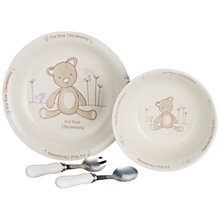 Buy John Lewis Christening Dinner Set Online at johnlewis.com