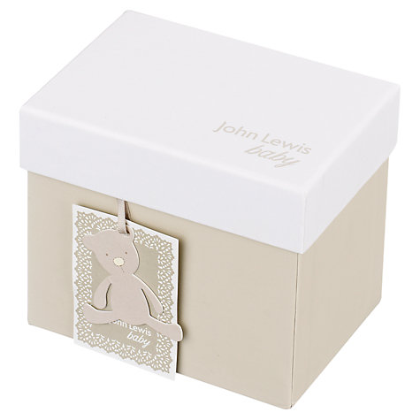 Buy John Lewis Noah's Ark Money Box Online at johnlewis.com
