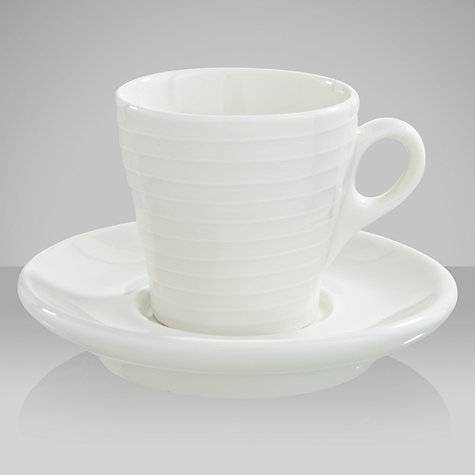 Buy Design House Stockholm Blond Espresso Cup and Saucer, Stripes Online at johnlewis.com