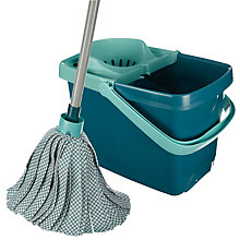 Buy Leifheit Mop and Bucket Set Online at johnlewis.com