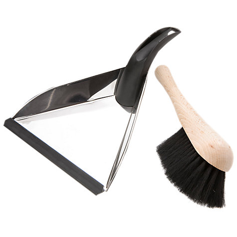 Buy Knox Stainless Steel Dustpan and Brush Online at johnlewis.com