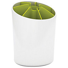 Buy Joseph Joseph Segment Utensil Pot, White / Green Online at johnlewis.com