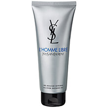 Buy Yves Saint Laurent L'Homme Libre Shower Gel, 200ml Online at johnlewis.com