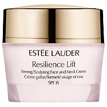 Buy Estée Lauder Resilience Lift Firming/Sculpture Face and Neck Crème SPF15 Online at johnlewis.com