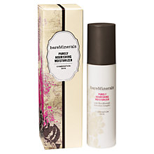 Buy bareMinerals Purely Nourishing Moisturizer - Combination Skin, 50ml Online at johnlewis.com