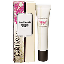 Buy bareMinerals Firming Eye Treatment, 15ml Online at johnlewis.com
