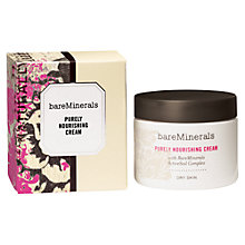 Buy bareMinerals Purely Nourishing Moisturiser, 50ml Online at johnlewis.com