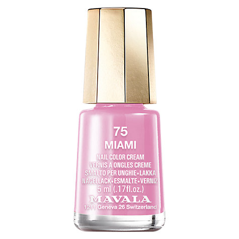 Buy MAVALA Mini Colour Nail Polish, 5ml Online at johnlewis.com
