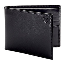 Buy Aspinal of London Smooth Leather Billfold Wallet, Black Online at johnlewis.com
