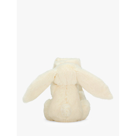 Buy Jellycat Bashful Bunny Blankie, Cream Online at johnlewis.com