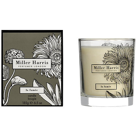 Buy Miller Harris La Fumée Scented Candle, 185g Online at johnlewis.com
