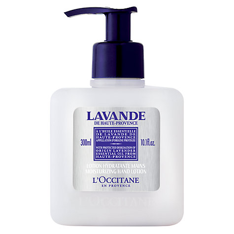 Buy L'Occitane Lavande Moisturising Hand Lotion, 300ml Online at johnlewis.com