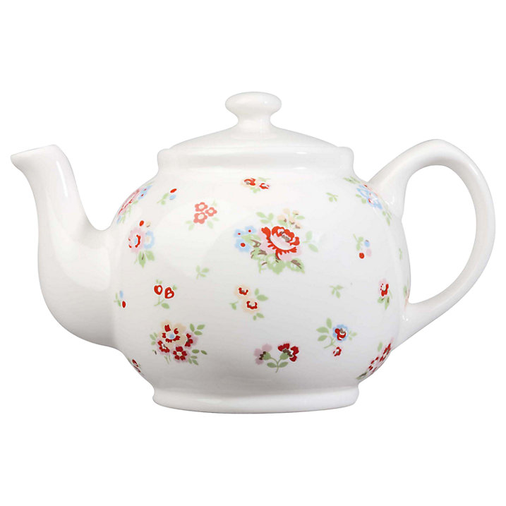 Buy Cath Kidston Sprig Teapot Online at johnlewis.com