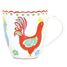 Buy Cath Kidston Cockerel Mug Online at johnlewis.com