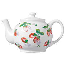Buy Cath Kidston Strawberry Teapot Online at johnlewis.com