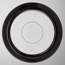 Buy Denby Eclipse Tea Saucer, Black Online at johnlewis.com