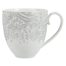 Buy Denby Monsoon Lucille Mug, Silver Online at johnlewis.com