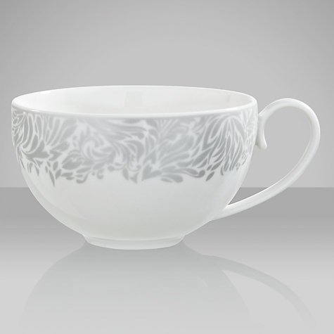 Buy Denby Monsoon Lucille Tea Cup, 0.25L, Silver Online at johnlewis.com