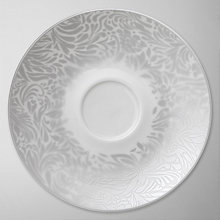 Buy Denby Monsoon Lucille Tea Saucer, Silver Online at johnlewis.com
