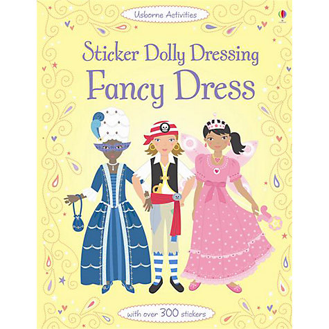Buy Sticker Dolly Dressing: Fancy Dress Book Online at johnlewis.com