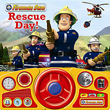 Buy Fireman Sam Steering Wheel Sound Book Online at johnlewis.com