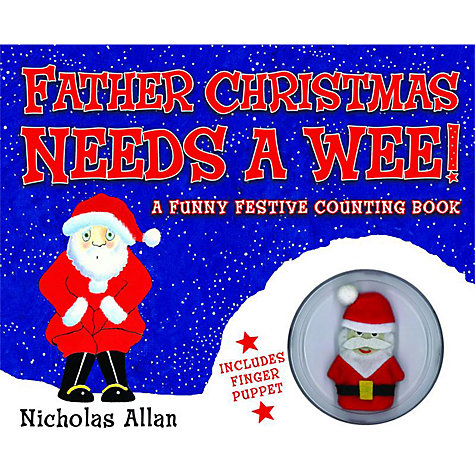 Buy Father Christmas Needs A Wee Book Online at johnlewis.com