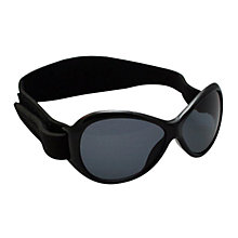 Buy Baby BanZ Retro Sunglasses, Black Online at johnlewis.com