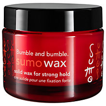 Buy Bumble and bumble Sumowax, 50ml Online at johnlewis.com
