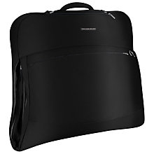 Buy Briggs & Riley Deluxe Suit and Garment Bag, Black Online at johnlewis.com