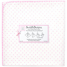 Buy Swaddle Designs Ultimate Receiving Blanket Swaddling Blanket, Light Pink Online at johnlewis.com