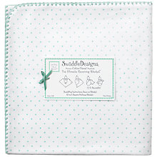 Buy Swaddle Designs Ultimate Receiving Blanket Swaddling Blanket, Sea Crystal Online at johnlewis.com