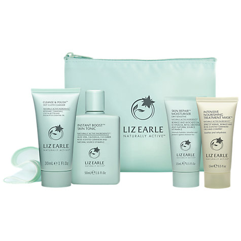 Buy Liz Earle Skin Care Try-Me Kit with Nourishing Treatment Mask, Dry/Sensitive Skin Types Online at johnlewis.com